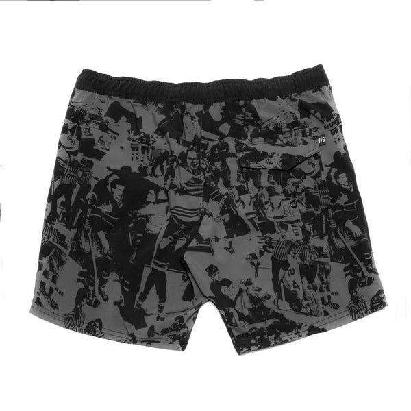 Offseason Board Shorts - Black - Men's Shorts - Violent Gentlemen