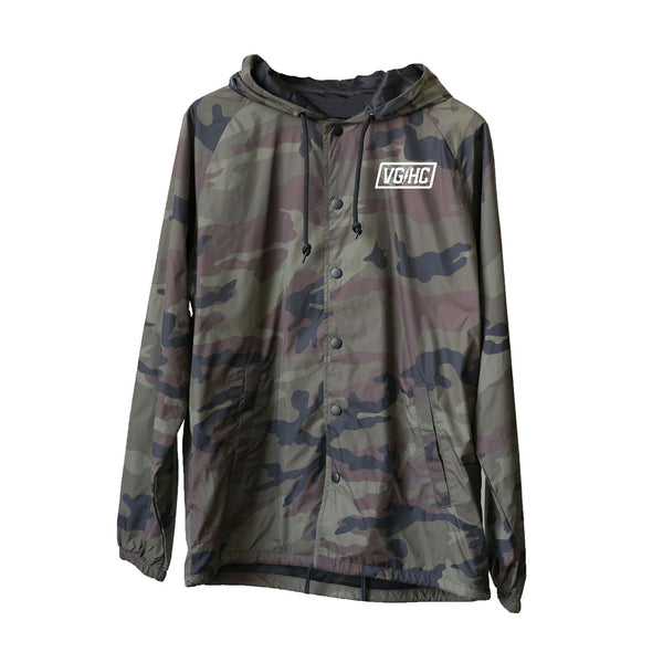 Blood & Sweat Coaches Jacket - Camo - Men's Jackets - Violent Gentlemen