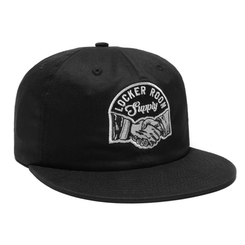 Locker Room Supply Snapback - Black - Hats - Violent Gentlemen