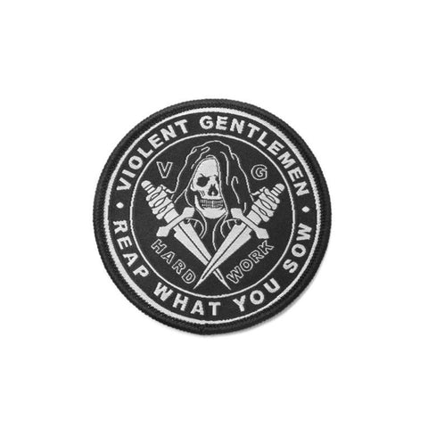 Reaper Patch - Black - Accessories - Violent Gentlemen