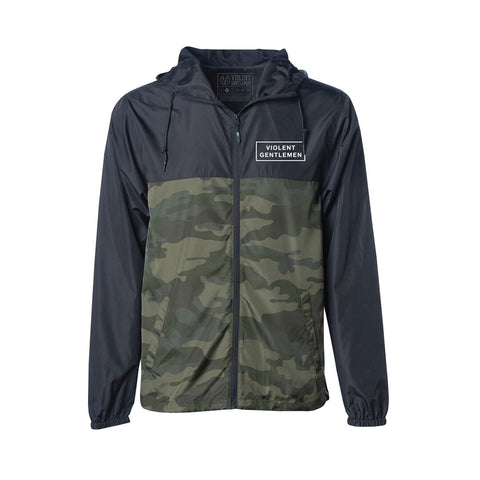 Member Windbreaker - Black - Men's Jackets - Violent Gentlemen