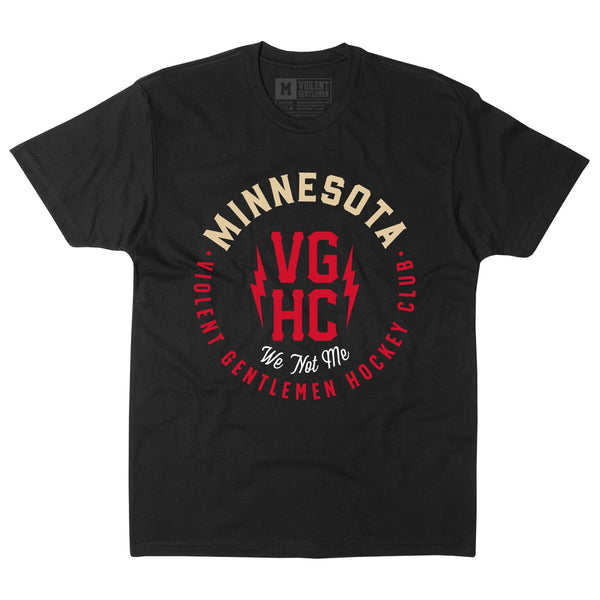 We Are Minnesota Tee - Black - Men's T-Shirt - Violent Gentlemen
