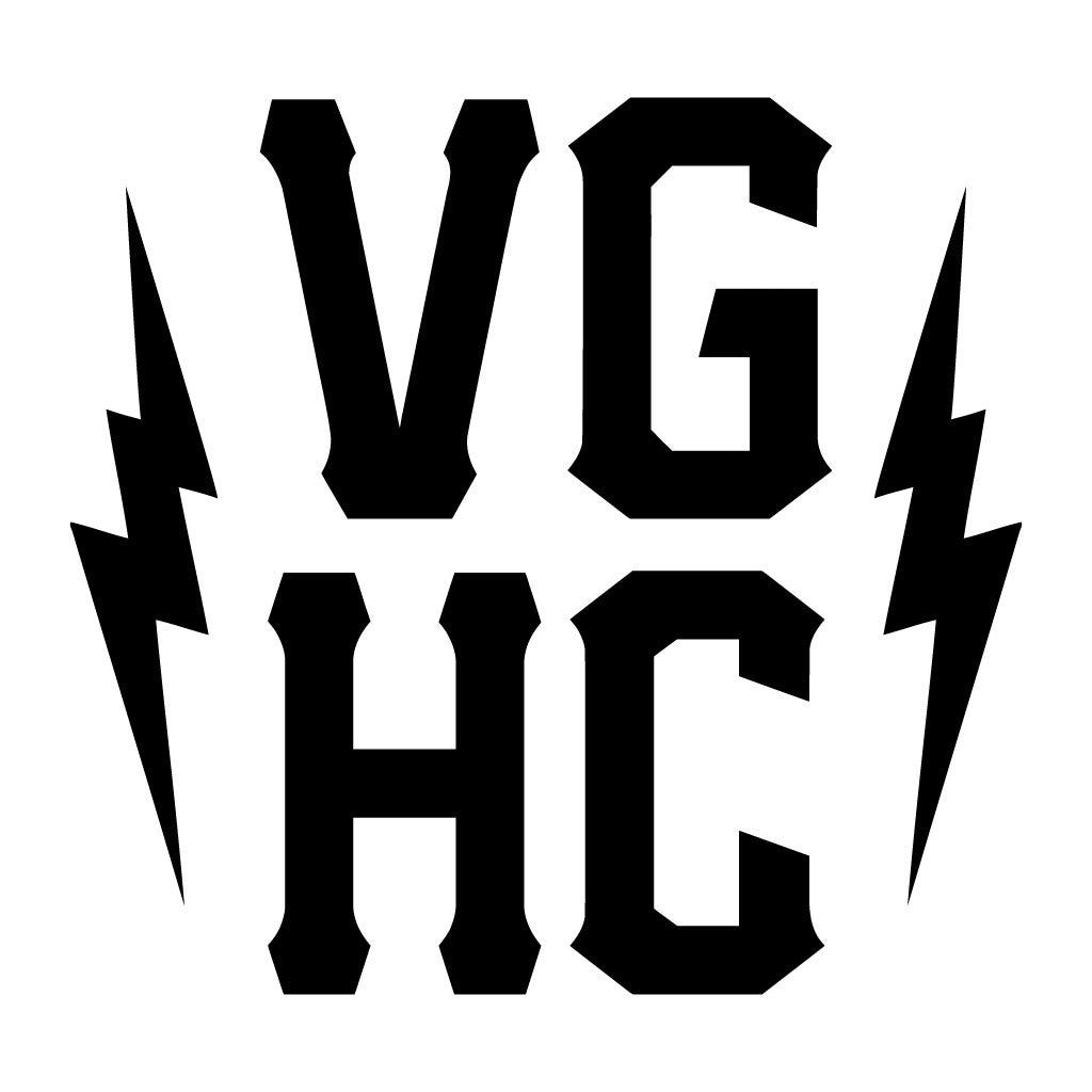 VGHC Stacked Die Cut Sticker