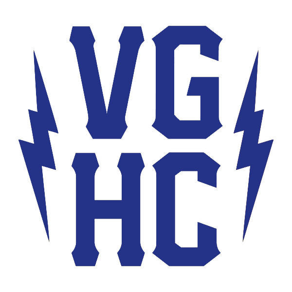 VGHC Stacked Die Cut Sticker - Blue - Accessories - Violent Gentlemen