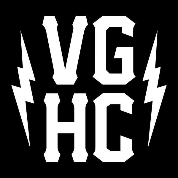 VGHC Stacked Die Cut Sticker - white - Accessories - Violent Gentlemen