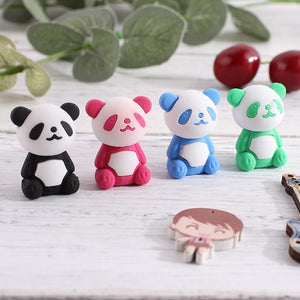 Cute animal cartoon panda eraser