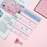 15cm card cute cherry plastic ruler