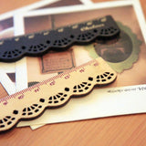 Retro creative fashion wooden ruler