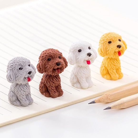 Cute animal cartoon puppy eraser