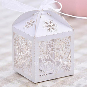 Love Heart Laser Cut Gift Boxes