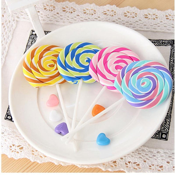 Creative cute novelty lollipop eraser