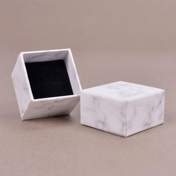 Marbled Jewelry Box Gift Box