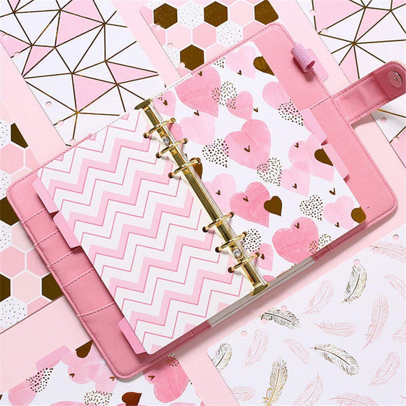 Fashion cute index page A5 notebook
