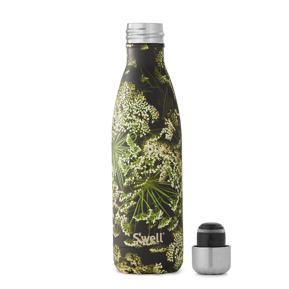S'Well: Flora & Fauna Collection - 500ml Queen Ann's Lace