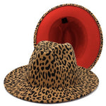 Load image into Gallery viewer, Red Bottom Fedora Hat