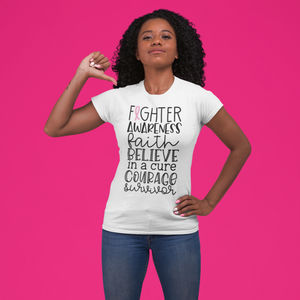 Breast Cancer Fighter Tee