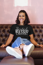 Load image into Gallery viewer, Thankful Blessed and Kind of a Mess Tee