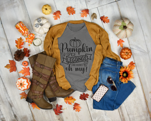 Pumpkin Spice, Leggings & Hoodies, Oh My Tee