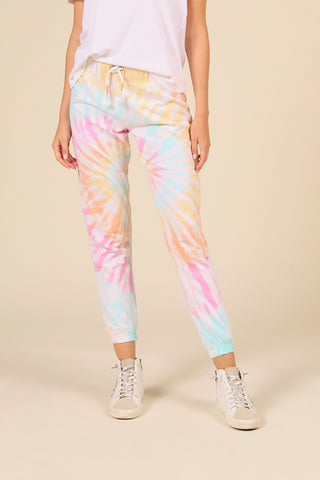 Beach Bum Tie Dye French Terry Jogger