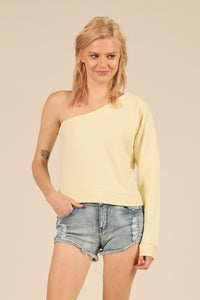 Lemonade Beach One Shoulder Top