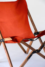 Load image into Gallery viewer, Orange Humphrey Chair