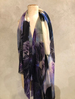DIGITALLY PRINTED PASHMINA STOLE - 'PODS'
