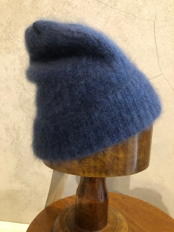 C.T.PLAGE RACCOON BEANIE_DENIM