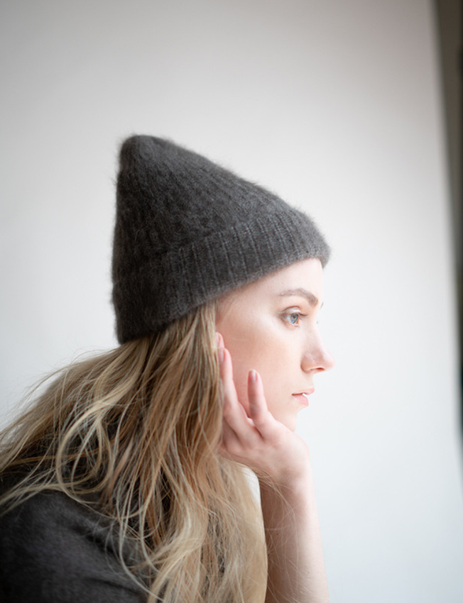 C.T.PLAGE RACCOON BEANIE_BLACK