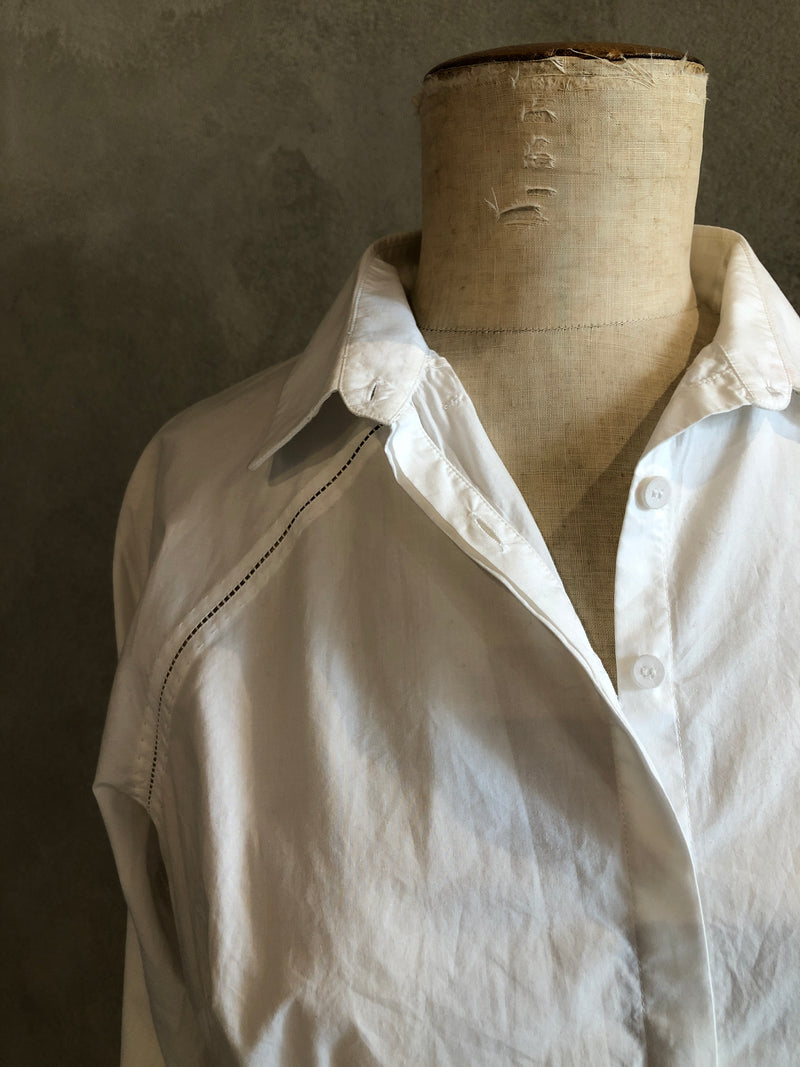 RAJESH PRATAP SINGH COTTON POPLIN FITTED SHIRT