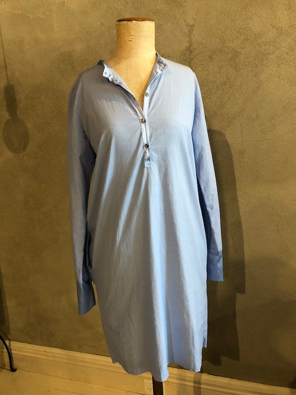 KRISTENSEN DU NORD 100% COTTON SHIRT DRESS_0-106