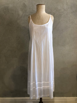 KANDIS COTTON SLIP_LONG LENGTH_WHITE