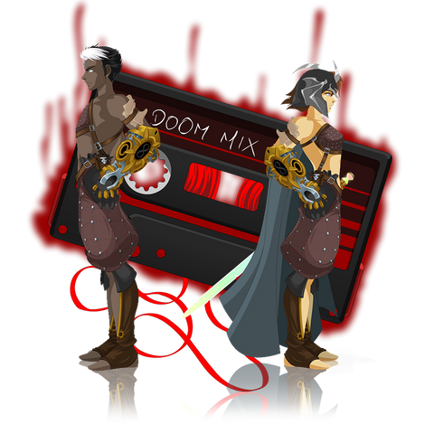 Epoch Class gets its second artifact, the Corrupted Doom Cassette in DragonFable