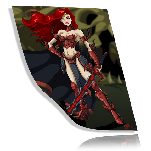 Unarmored Gravelyn Collector Print