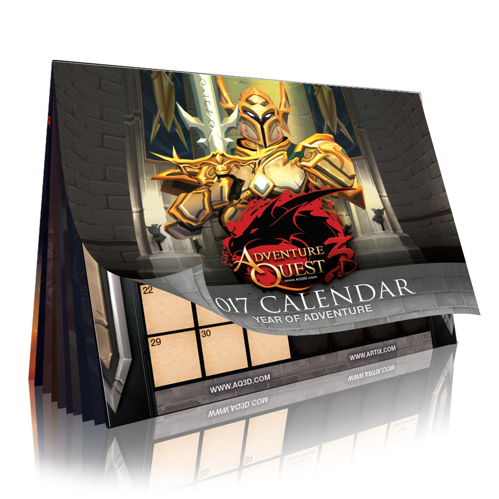 "2017 Calendar ""Year of Adventure"""