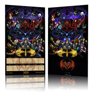 "Load image into Gallery viewer, 2020 Artix Calendar ""Poster"""