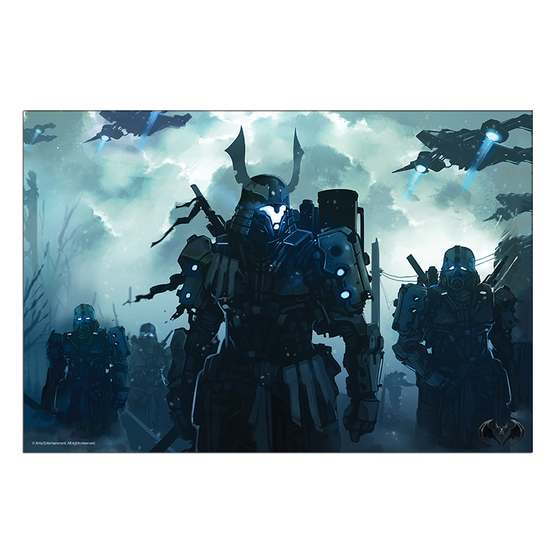 Battle to Control the Future Collector's Print