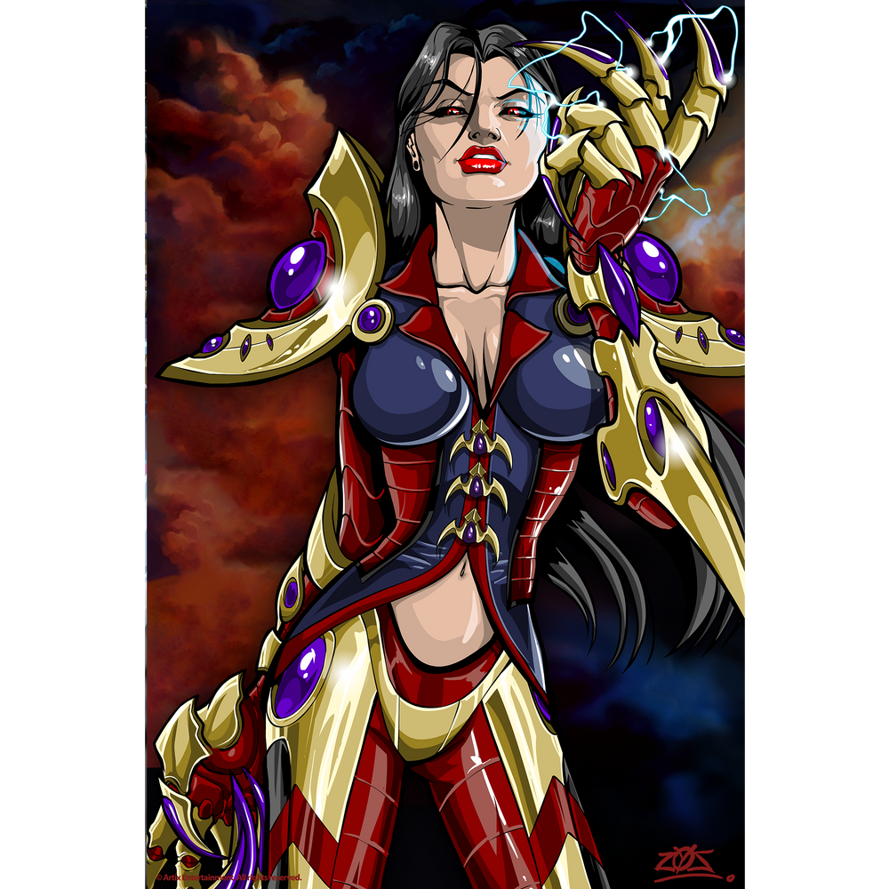 Alydriah of the Legion - Collector's Print