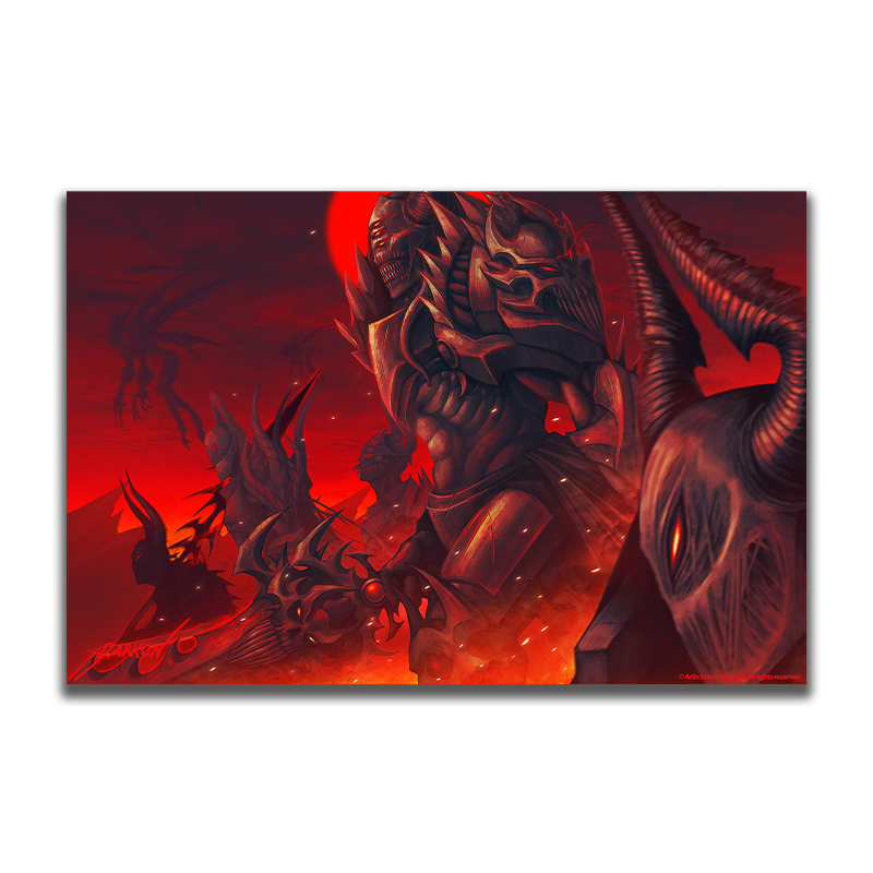 Darkon's Invasion of the Apocalypse  - Collector's Print