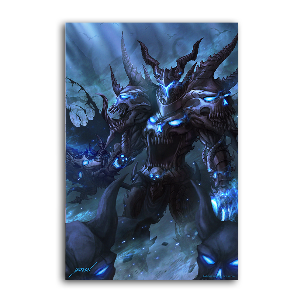 Darkon's Battle for the Underworld - Collector's Print