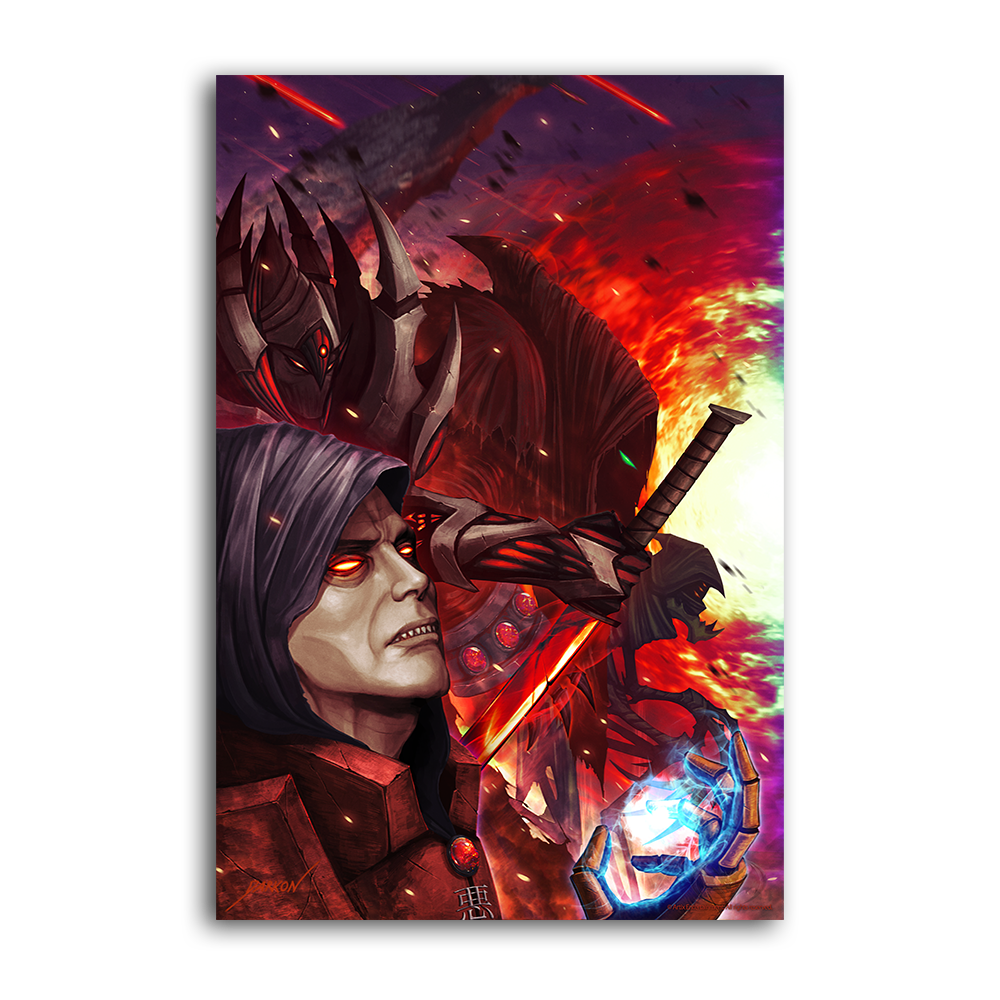 Darkon's Fiends of the Apocalypse  - Collector's Print