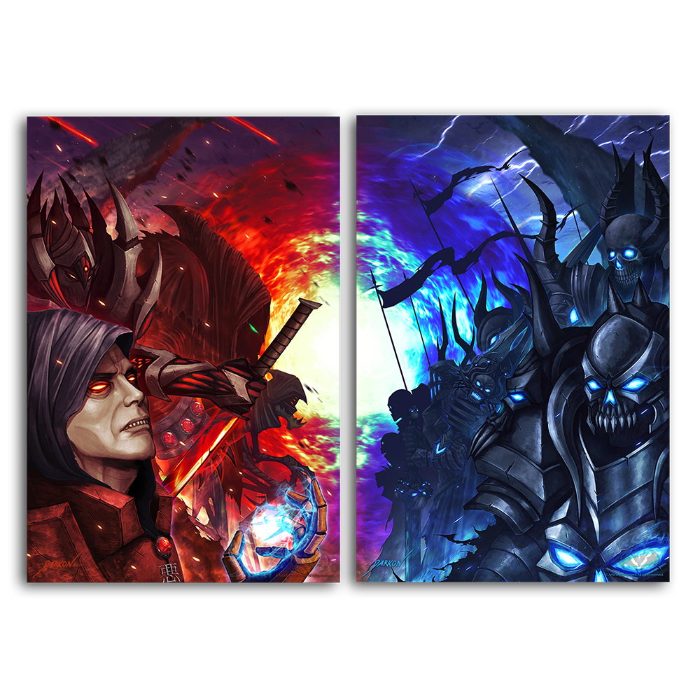 Darkon's Followers & Fiends - 2 Collector's Print Combo Set
