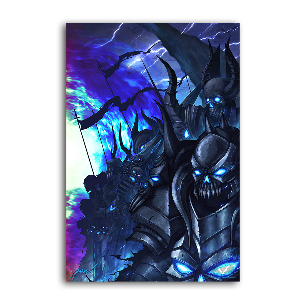 Darkon's Underworld Apocalypse - 4 Collector's Print Combo Set
