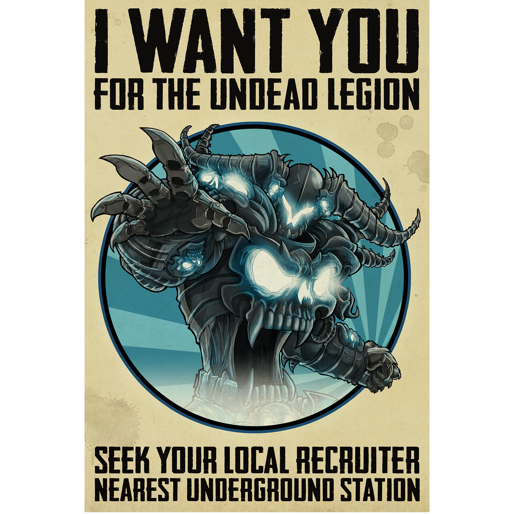 Recruitment War Scroll - Collector's Print