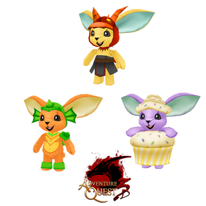 Load image into Gallery viewer, The Cupcake Nugget and Zilla Moglin Collection