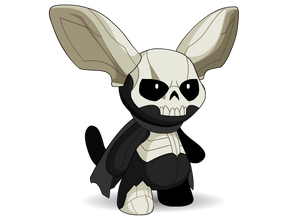 Load image into Gallery viewer, Mort - The Shadow Moglin Plush