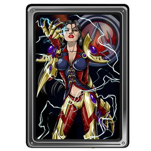Load image into Gallery viewer, Alydriah of the Legion - Collector's Print