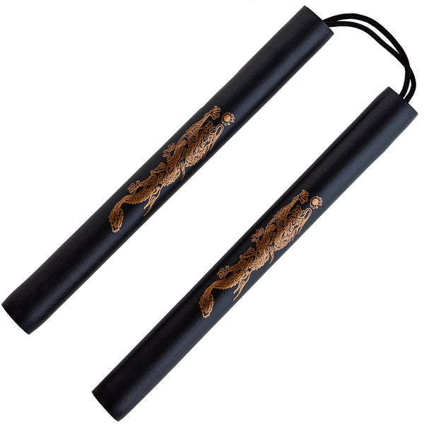 Black Foam Safety Cord Nunchaku