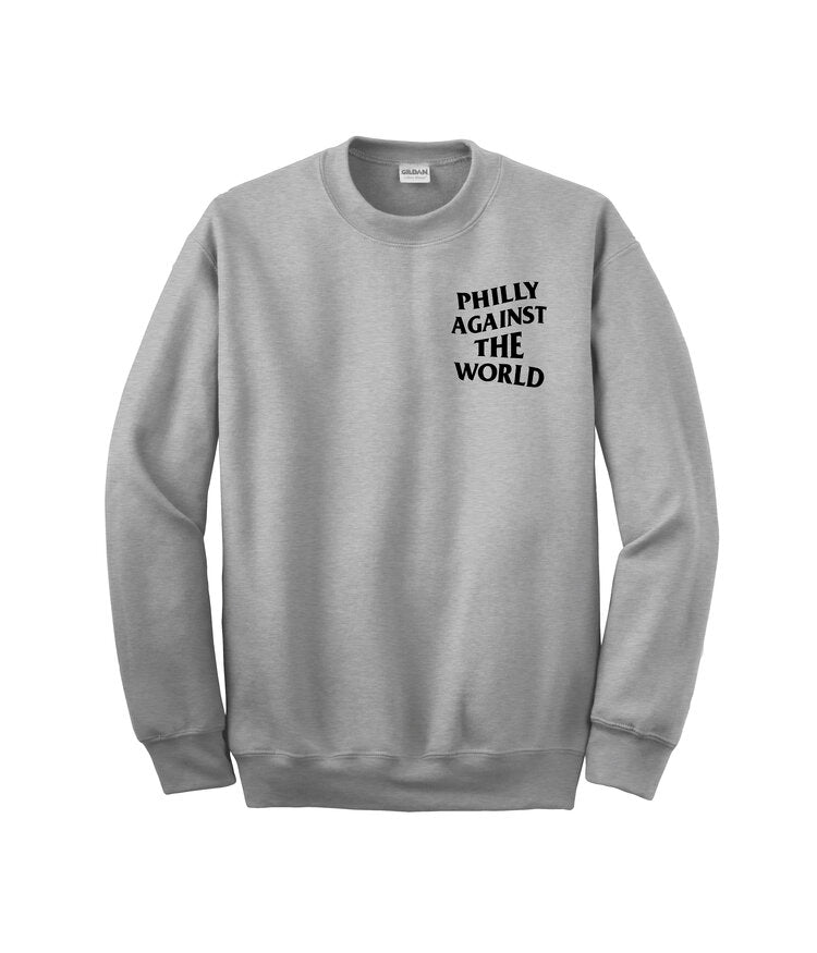 Philly Against The World Crewneck