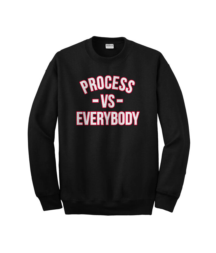 Process Vs. Everybody Crewneck