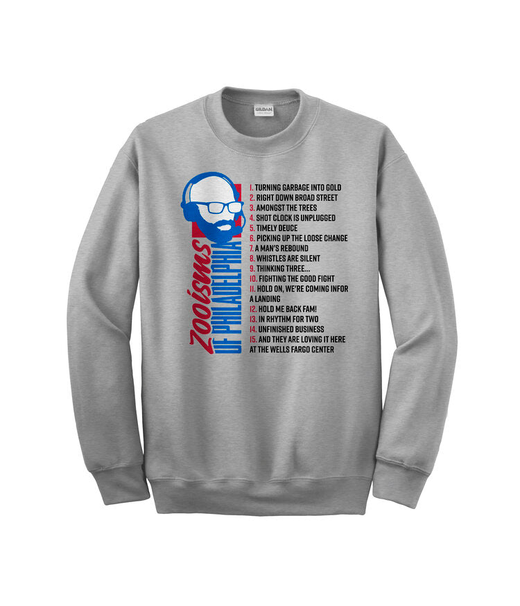 Zooisms Of Philly Crewneck